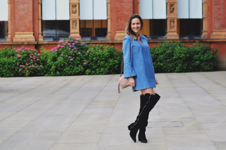 look-com-vestido-jeans
